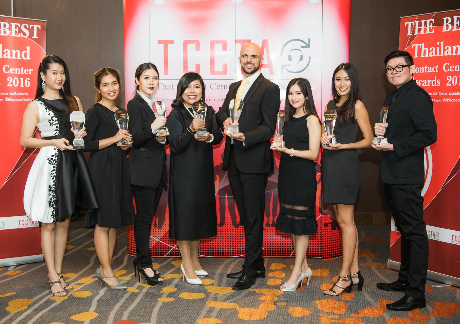 Direct Asia Thailand crowned for best in contact center service with the eight awards guaranteed at the TCCTA Contact Center Award 2016
