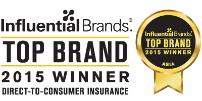2015 Asia's Top Influential Brands - Direct-To-Consumer Insurance จาก Brand Alliance Group
