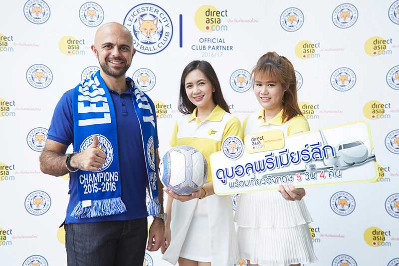 Direct Asia Thailand launches FREE!! Trips to Premier League and 5 Days 4 Nights in UK!