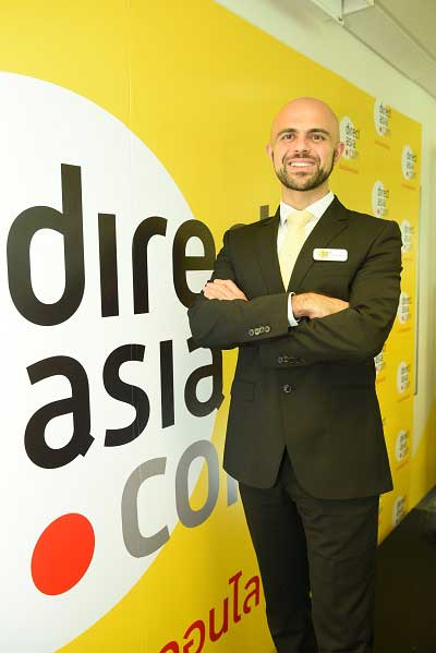 New DirectAsia Thailand CEO aims to double business in 2016