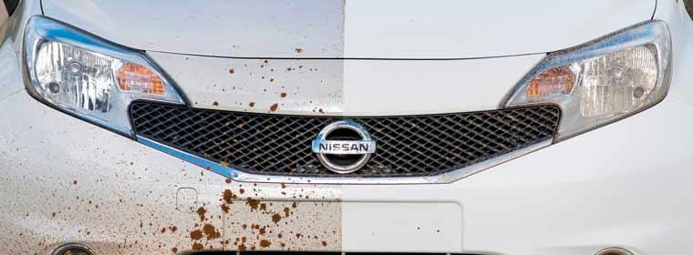 Nissan Ultra-Ever Dry นวัตกรรมรถยนต์ใหม่ สีที่ไม่ต้องล้าง