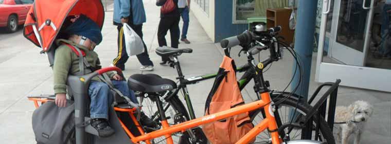 คุยเรื่องที่นั่งเด็กติดจักรยาน เมื่อต้องเป็นเสือพ่อลูกอ่อน ตอนที่สอง