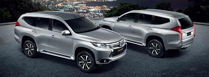 All New Mitsubishi Pajero Sport 2015 โฉมใหม่