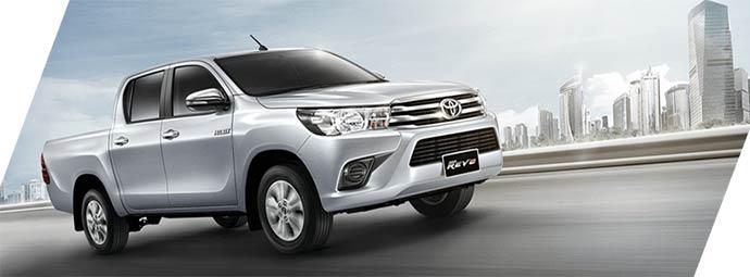 Toyota Hilux Revo สิ้นสุดการรอคอยแล้ว